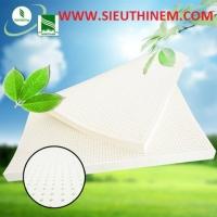 Nệm Cao Su Đồng Phú Deluxe Dorufoam - 2 Mặt Lổ Tròn - Màu Trắng | Đặt Hàng Online Giảm Ngay 20%